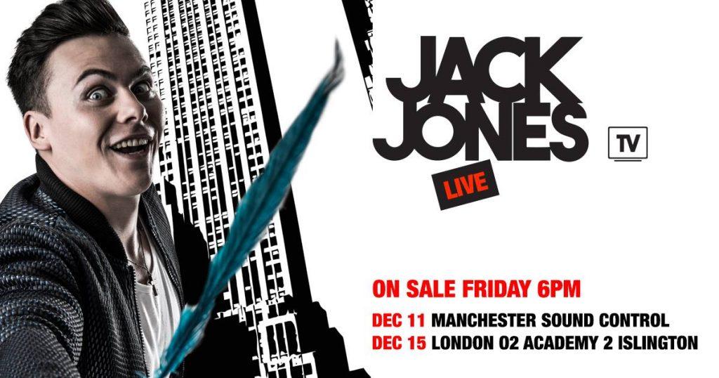 Jack Jones TV Manchester Event at Sound Control
