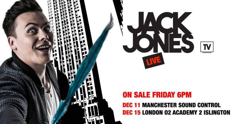 JACK JONES TV LIVE: MANCHESTER SOUND CONTROL