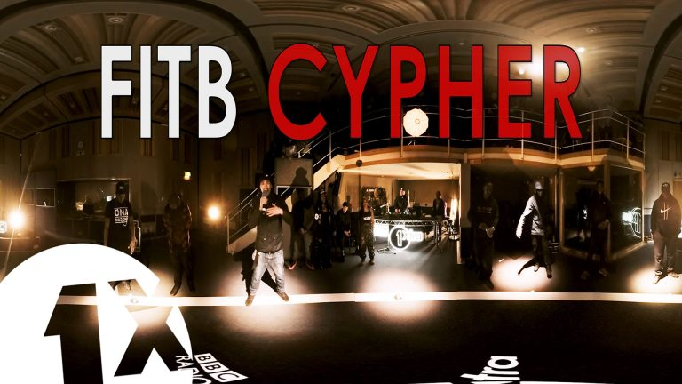 Fire In The Booth Cypher in 360