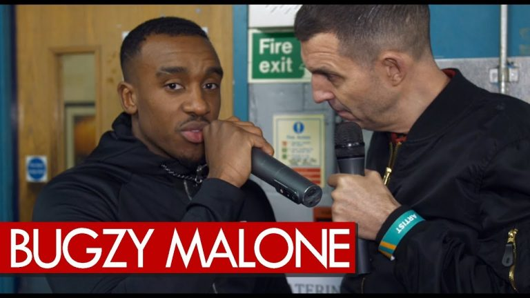 Bugzy Malone on smashin down big stages, Tim Westwood reaching for a Crib Session