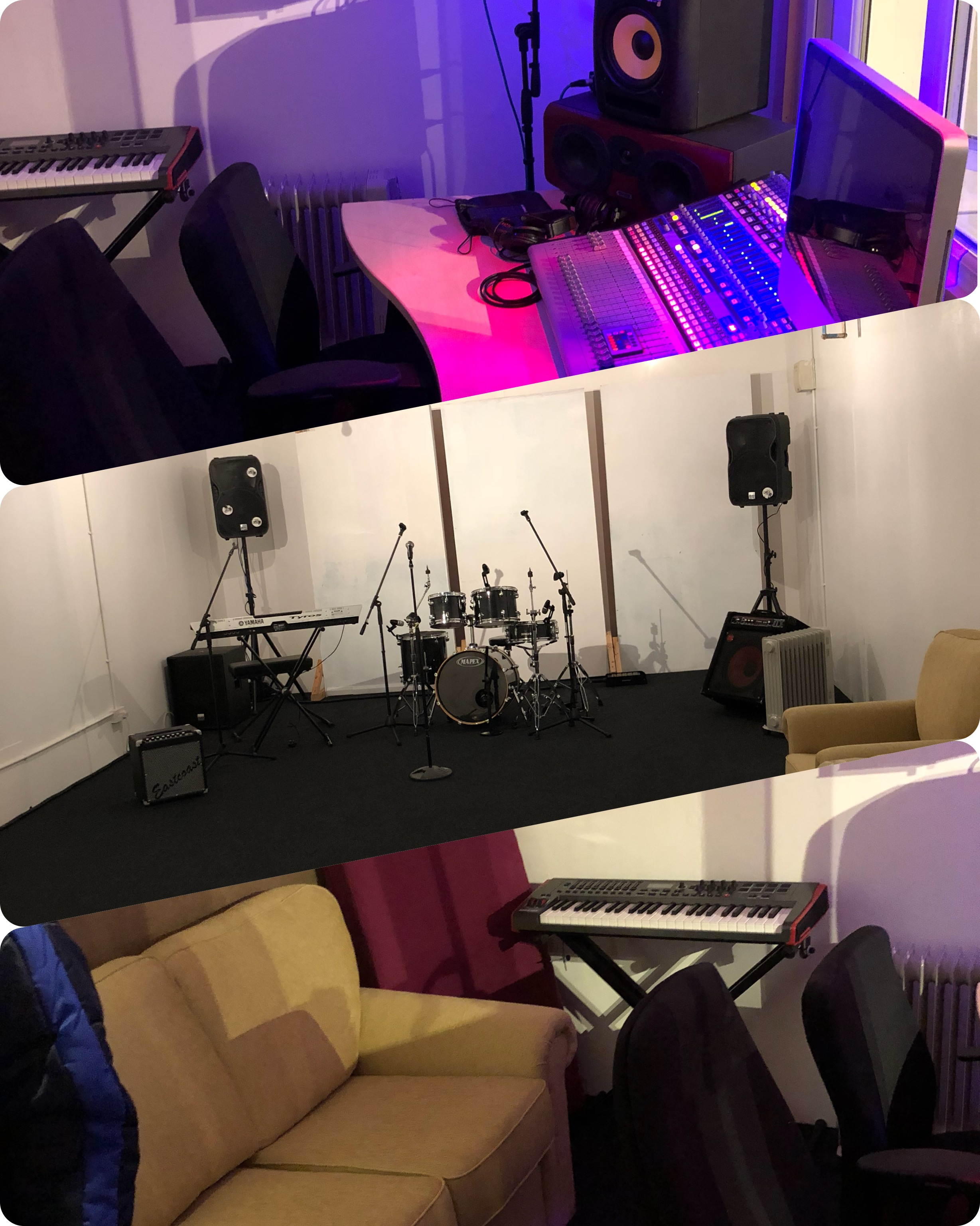 Pie Studios - Rehearsal Rooms and Recording Studios in Stockport