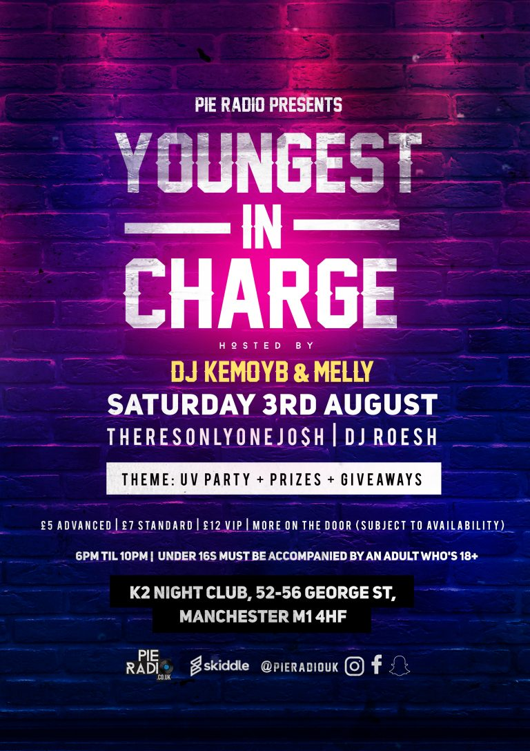 Youngest In Charge UV Party