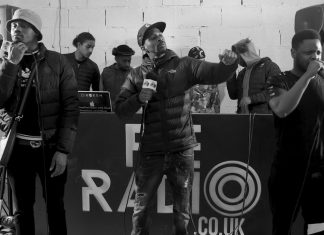 Traumz, David Rey, Larboonz, SNF, BG Boogie, Persia 2019 Xmas Cypher On The Ratio Show.