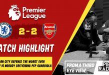 Chealsea 2 - 2 Arsenal Match Review & Highlight From A 3rd Eye View