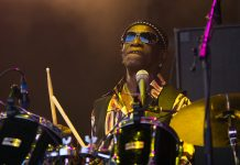 The Pioneering Nigerian drummer Tony Allen, a co-founder of the Afrobeat musical genre, died in Paris yesterday 30th April, aged 79.  Eric Trosset broke the news on NPR radio confirming the Afrobeat legend had died of a heart attack and the death was not linked to coronavirus.