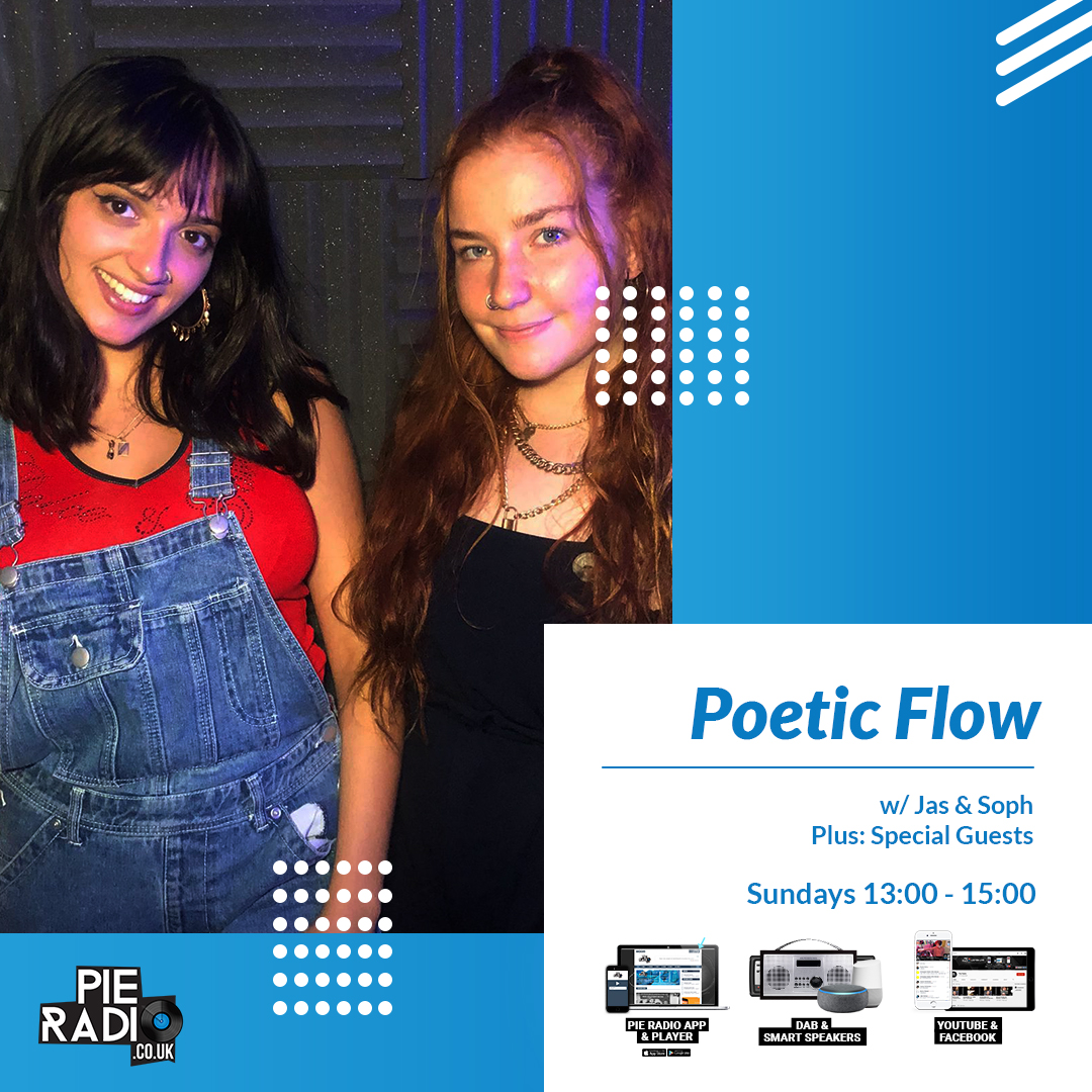 1:00PM - 3:00PM POETIC FLOW WITH JAS AND SOPH