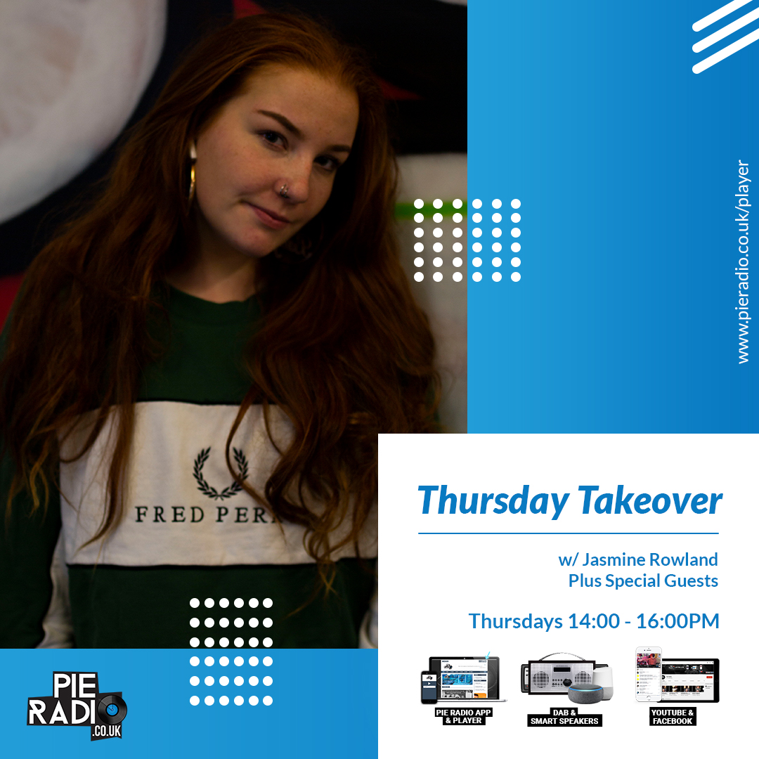 Thursday Takeover with Jasmine Rowland