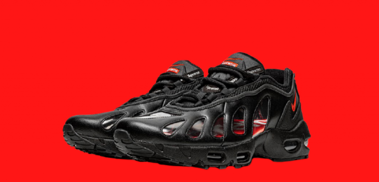 Supreme Link Up With Nike To Create The Supreme x Nike Air Max 96 'Black'