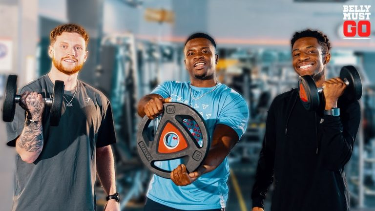 Michael Dapaah welcomes Sidemen Tobjizzle & Behzinga for another episode of Belly Must Go