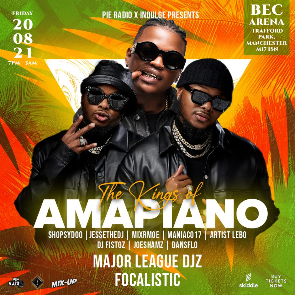FOCALISTIC JOINS THE MAJOR LEAGUE DJZ FOR 'KINGS OF AMAPIANO' IN MANCHESTER
